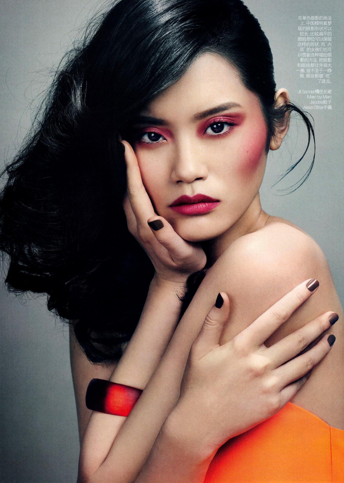 Модели азиатской внешности москва социальная работа девушка модель россии