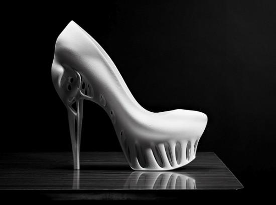 Биомимикрия обуви от Мариеки Ратсма и Костика Спахо
