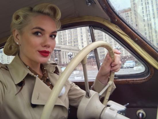 Анастасия Трегубова вышла из декретного отпуска и снова увлеклась машинами