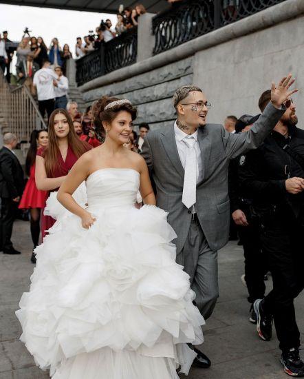 Драка и менты на свадьбе Моргенштерна