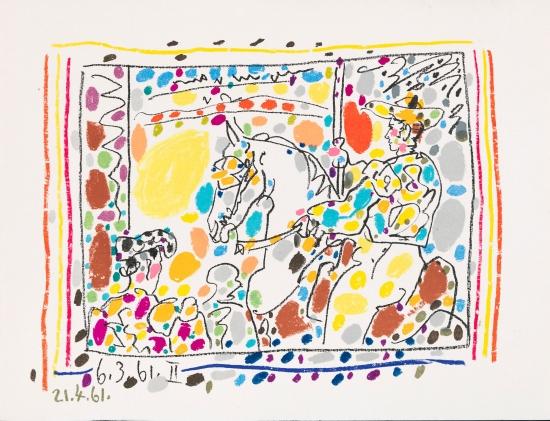 Пабло Пикассо «Страсть. Кровь. Вино. Женщина»