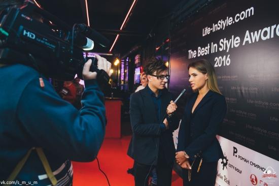 Паша Мавриди и Лиза Жарких. Премия портала Life-InStyle.com «The Best In Style Awards 2016» состоялась!