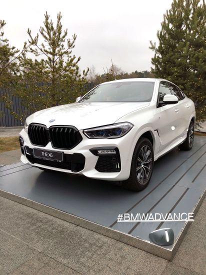 Зимняя сказка в Сколково с новым BMW X6 от Адванс-Авто