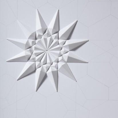 Бумажные кристалы