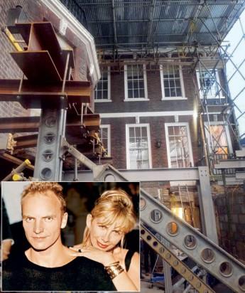 Стинг и Труди решили отреставрировать в Лондоне дом, построенный в XVIII веке. За дело взялся архитектор Ли Ф. Миндель (Lee F. Mindel). Миндель пригласил реставратора «Энтони Клоуз-Смит (Antony Close-Smith) принять участие в проекте.