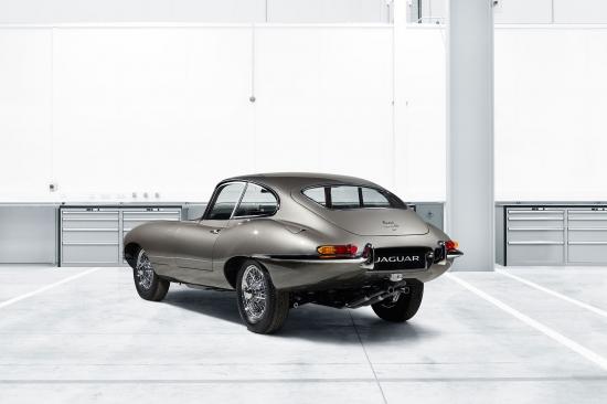 Jaguar Classic покажет E-type Reborn на выставке Techno-Classica