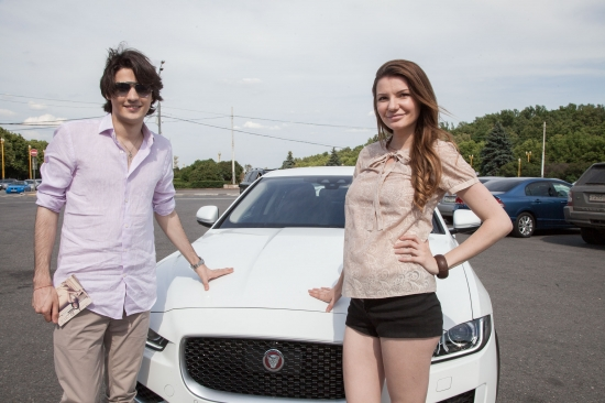 Тест-драйв JAGUAR XE с Викторией Черенцовой и Андреем Цветковым