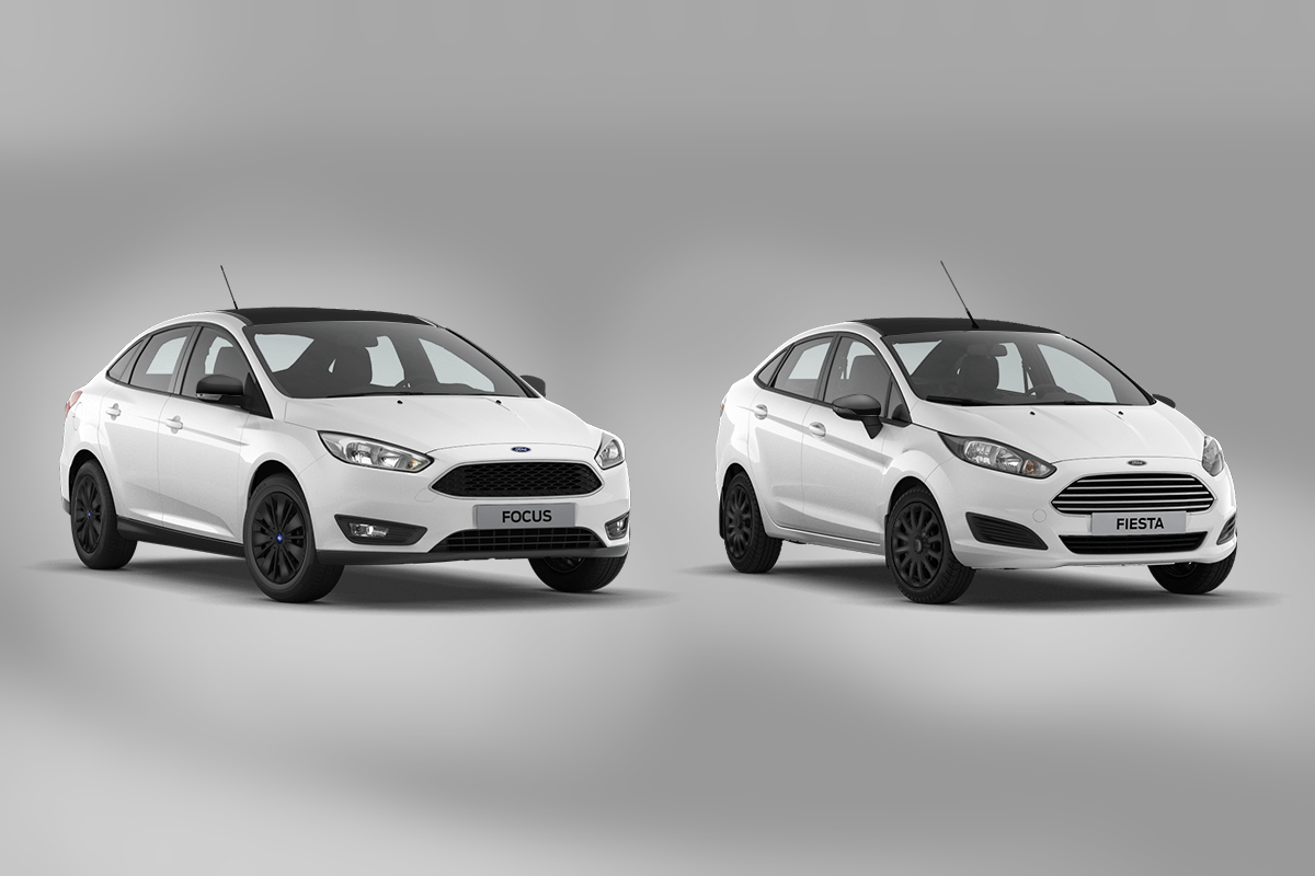 Fiesta Focus White and Black