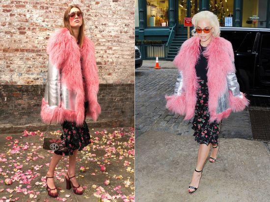 Рита Ора появилась на улицах Нью-Йорка в модном луке от MICHAEL KORS