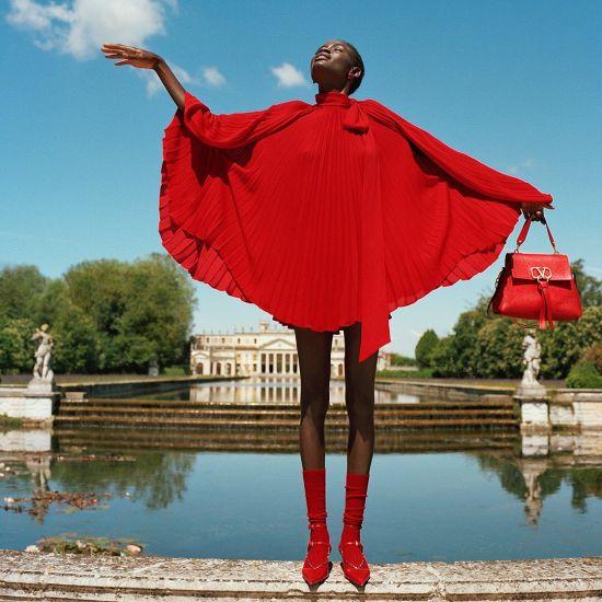 Модная одежда от итальянского кутюрье Valentino